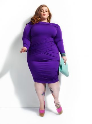 Purple Plus Size Dresses – Fashion dresses