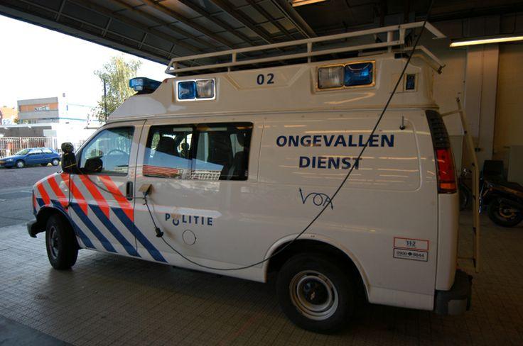 Chevrolet Chevy Van Regiopolitie Amsterdam-Amstelland Verkeers Ongevallen Analyse politievoertuigen.nl