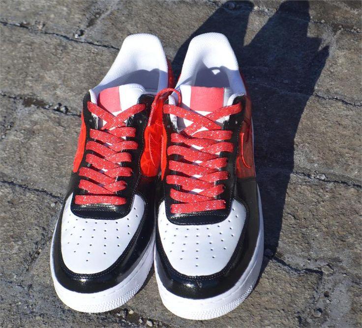 red nike shoes roshe custom splatter crocs 840968