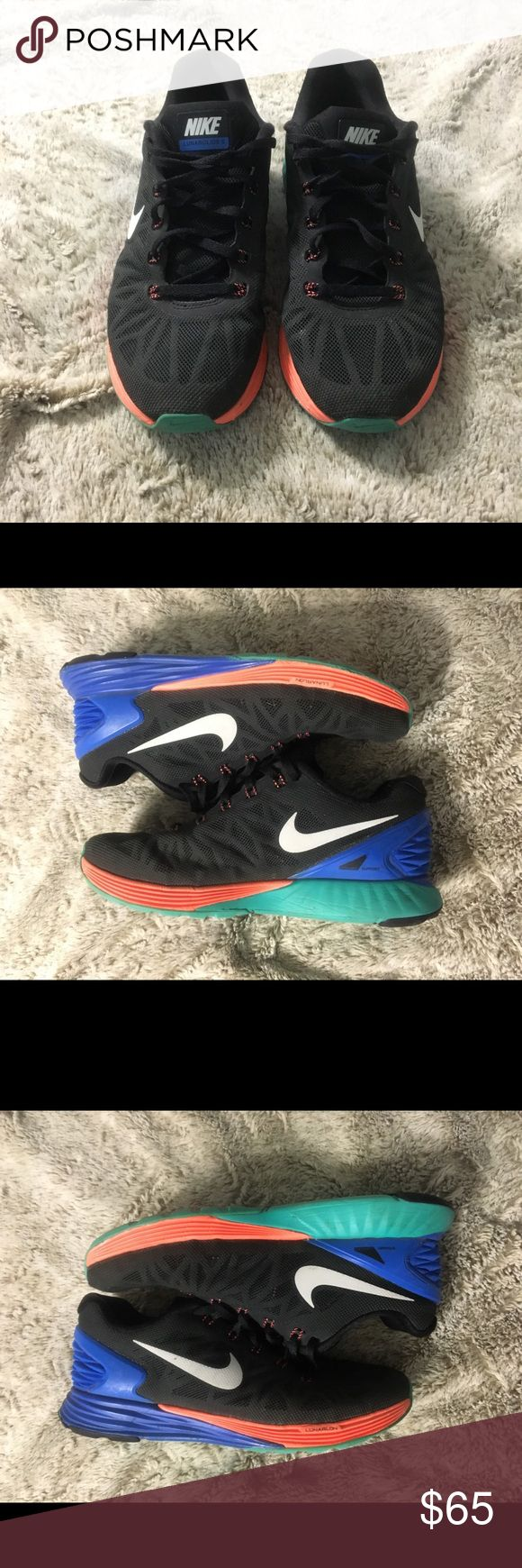 Nike Lunarglide 6 Women's - Sz 7 Excellent Condition Minor signs of wear on sides of sole Smoke-Free Home Shoes Athletic Shoes
