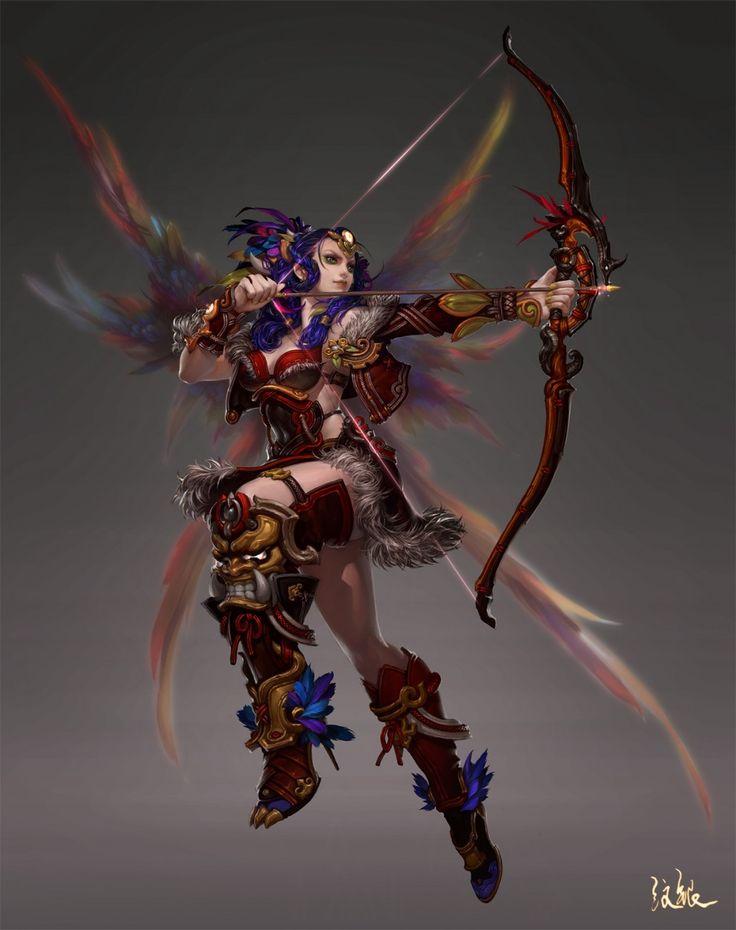 36 best fantasy archers images on pinterest fantasy