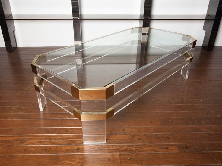 Lucite Coffee Table U2013 This Another Way To Enjoy Your Drinking Coffee  Activity And To Make