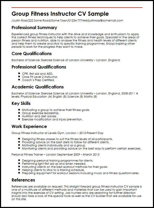 Sample Resume Zumba Instructor Job Resume Samples Sample Resume