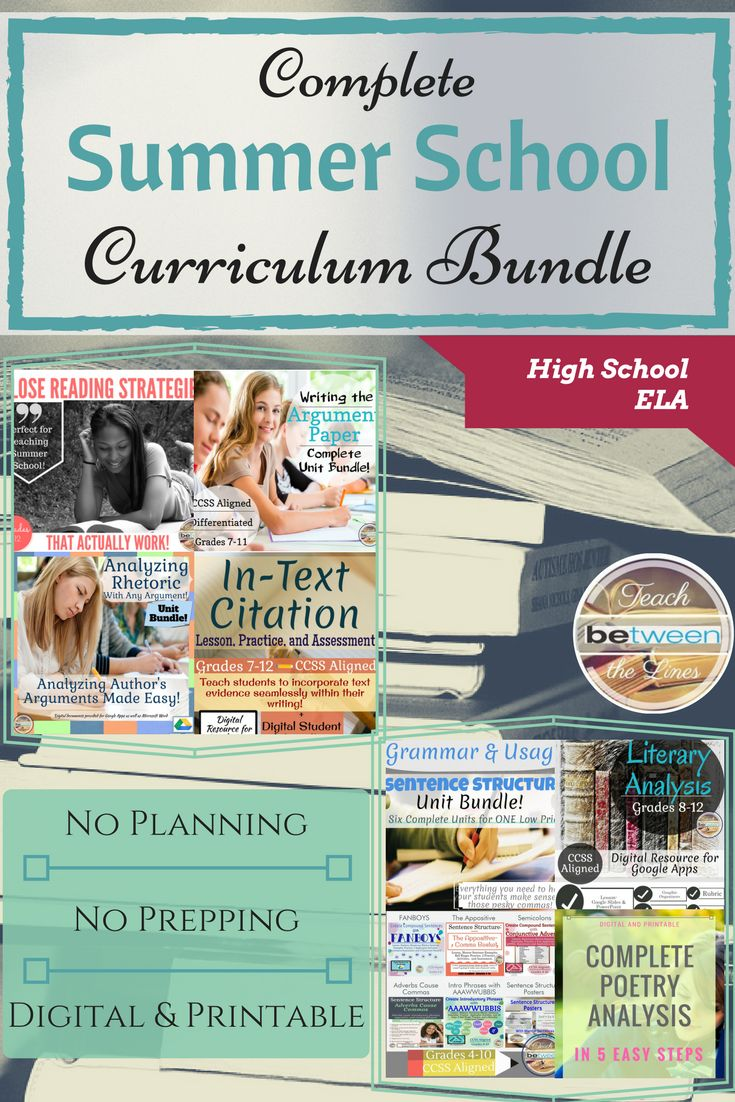 Complete English/ Language Arts Summer School Bundle for High School will provide you all of the lessons, materials, and activities to teach summer school- ZERO prep involved! From introduction activities and procedure slides (introduced using fun memes) to specific reading and writing strategies that have been the most beneficial to my struggling readers and writers. This unit is completely digital for use with Google Apps or Microsoft One Drive, and is also completely printable…