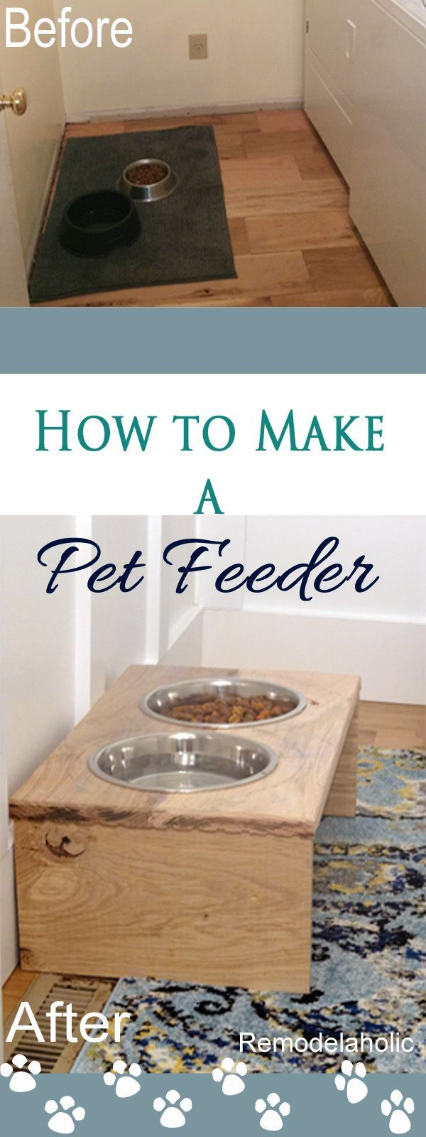 Hello, I'm Tamara visiting again from Provident Home Design where I share design, decorating, and DIY tips on a budget! Today I have a special DIY tutorial for all you pet lovers–2 different stylish p