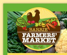 Barrie Farmers' Market - fresh produce, local grown meat, eggs, fruits & vegetables and more
