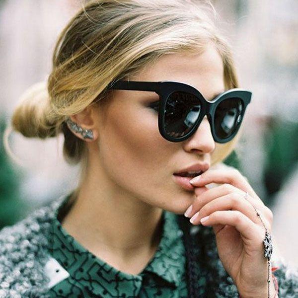 As Melhores Inspirações para Usar Ear Cuff   Sunglasses   Eyewear   Óculos    Sunglasses, Sunnies e Fashion bbc784f997