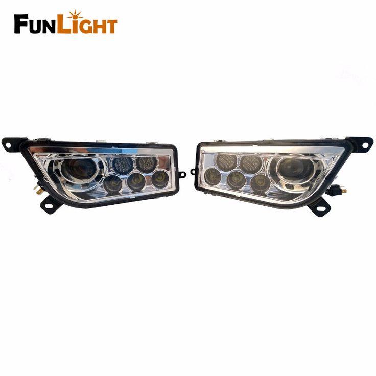 Free Shipping 40W LED Headlight Assembly Hi/Lo Beam for Polaris RZR 900 RZR XP 1000  #Affiliate