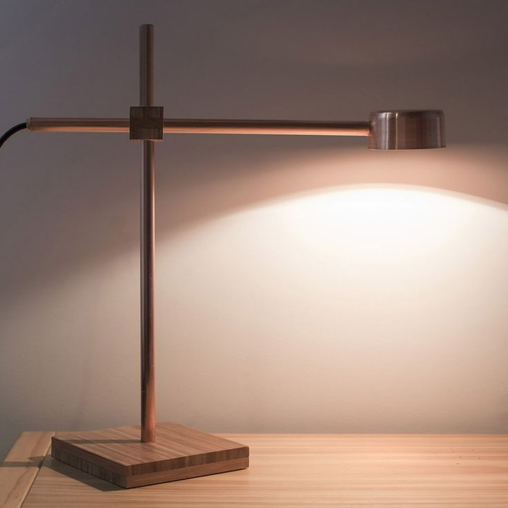 $460 chch made  Copper Blond - Lamp