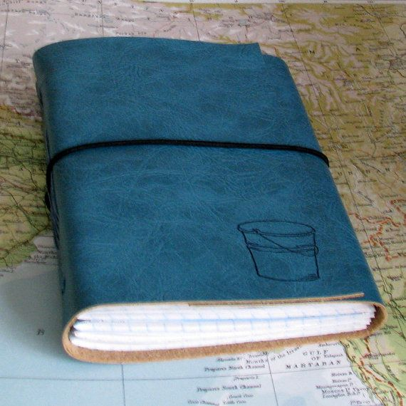 bucket list journal with maps as a travel journal retirement