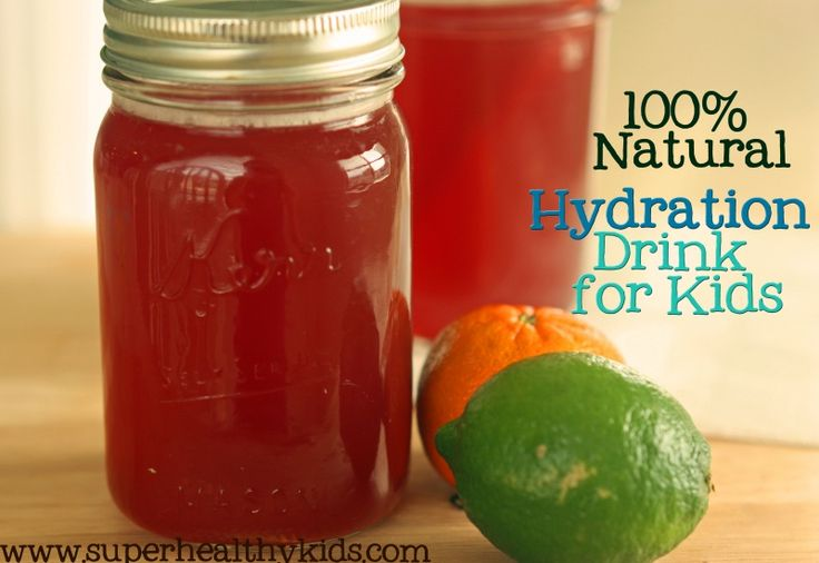 Natural hydration drinks for little competitive athletes! From Super Healthy Kids Soccer season approaches!