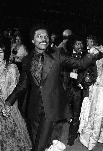 """Billy Dee Williams arrives at the Academy Awards on March 28, 1973. Mr. Williams, a presenter that night, appeared as Louis McKay in """"Lady Sings the Blues"""" which was nominated for five Oscars. Photo: Corbis."""
