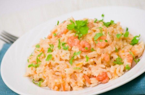 Ризотто с креветками и чесноком - Рецепты. Кулинарные рецепты блюд с фото - рецепты салатов, первые и вторые блюда, рецепты выпечки, десерты...