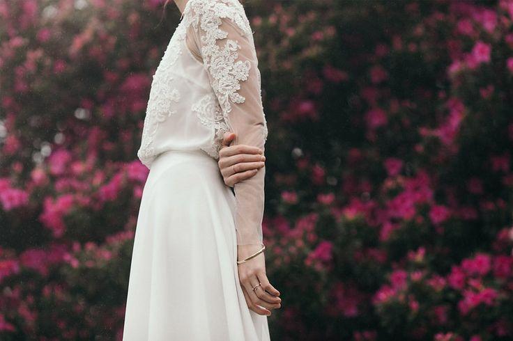 Soft, sheer sleeve with lace applique. CAITLIN - Dress by Janita Toerien - Photo by He Is Visual - www.janitatoerien.co.za (9).jpg