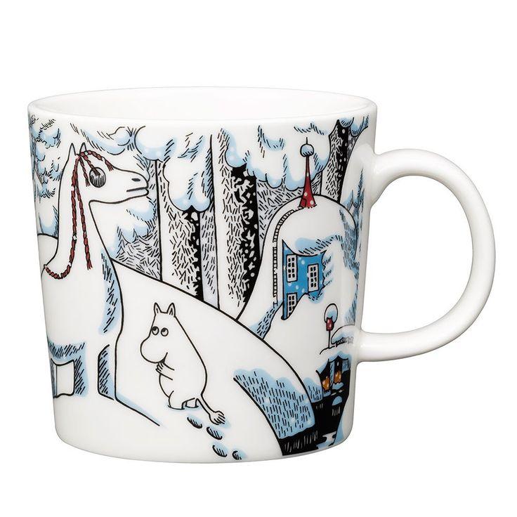Moomin Winter Mug 2016 - Snowhorse - The Official Moomin Shop  - 1