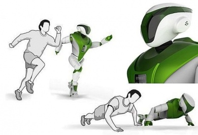 A fitness robot? Anything to push you to the next level.