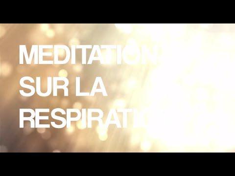 Méditation guidée en français - débutant - observation de la respiration - YouTube