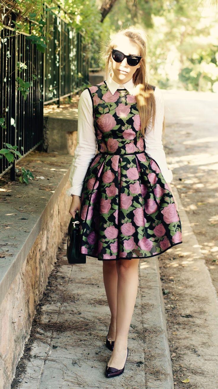 Floral Peplum Blouse | Floral peplum, Peplum blouse, Fashion