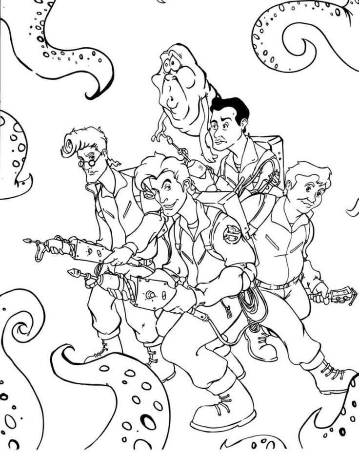 Ghostbusters 2016 Printable Coloring Pages