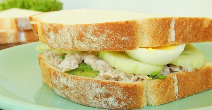 Sandwich de Atún - CUKit!