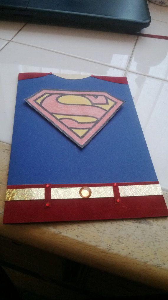 Открыток, открытка супермен своими руками