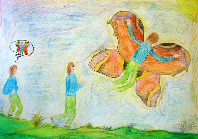 Foto - Mít tak křídla motýlí