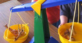 Dear Zoo - a unit of preschool work using the book 'Dear Zoo' as our base