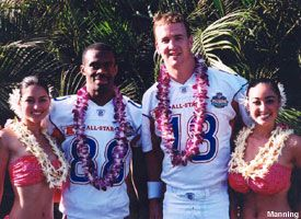 Marvin Harrison & Peyton Manning and some girls.