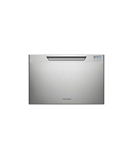 """DishDrawer Series DD24SCX7 24"""" Semi Integrated Single Drawer Dishwasher with 7 Place Settings 9 Wash Cycles Quiet Operation Adjustable Racks and Energy Star Approved in Stainless"""