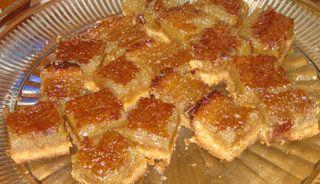 Carrés au sirop durable/maple squares