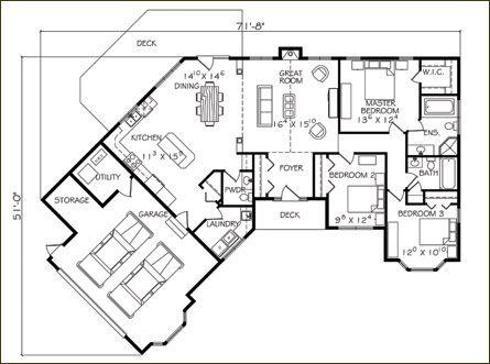 dream home floor plan dream home pinterest zuhause haus grundrisse und traumh user. Black Bedroom Furniture Sets. Home Design Ideas