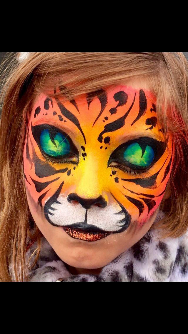 Tiger and  eyes