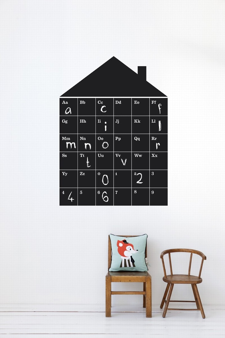 ABC House Wall Sticker by Ferm Living: