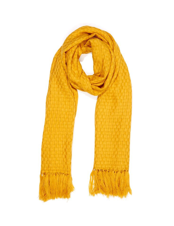 Image for Weaved Fringe Scarf from Dotti