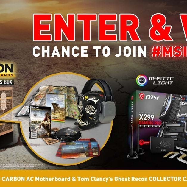 Visit The Link In Our Bio For Your Chance To Win a MSI X299 GAMING PRO CARBON AC Motherboard & Tom Clancy's Ghost Recon COLLECTOR CASE & PC GAME KEY ! #pinterestegiveaway #game #giveaway #motherboard #msi #gaming #gamer #videogames #gamestagram #steam #sorteo #follow #followme #win #contest #sweepstakes #giveaways #giveawayindonesia #giveawayph #giveawaycontest #giveawayindo #giveawaymalaysia #entertowin #contestalert #goodluck
