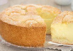 Crostata con crema alla panna cremosa e profumata