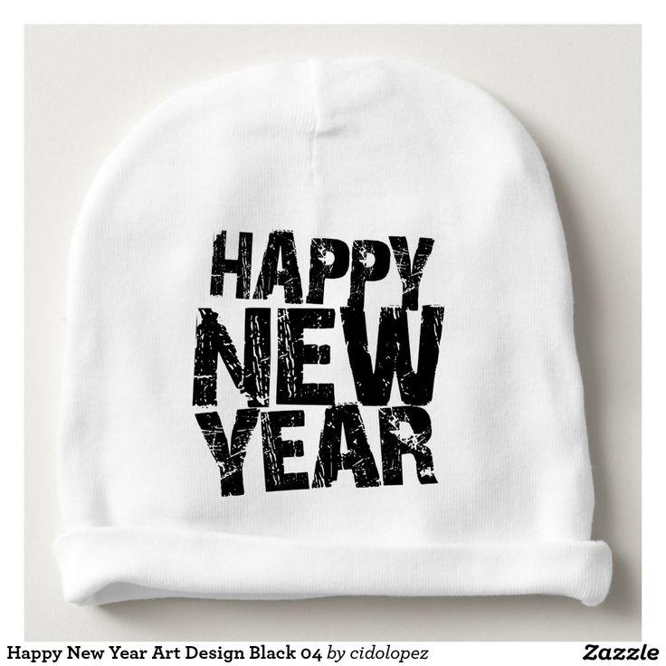 #HappyNewYear #Art #Design #Baby #Beanie #2017 #anonovo #newyear