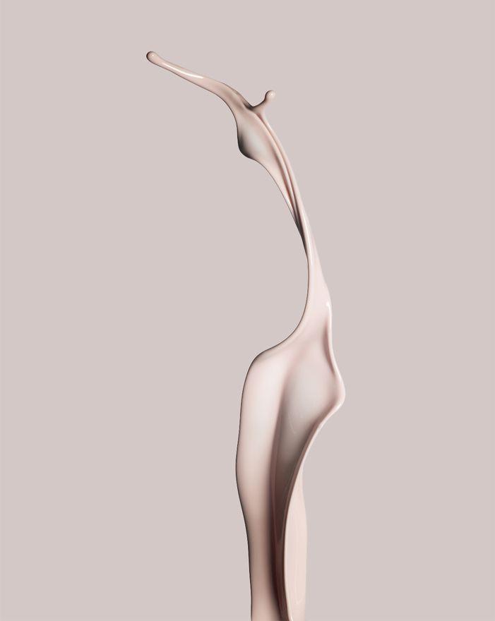 Cream texture, still life by Eric Sauvage _