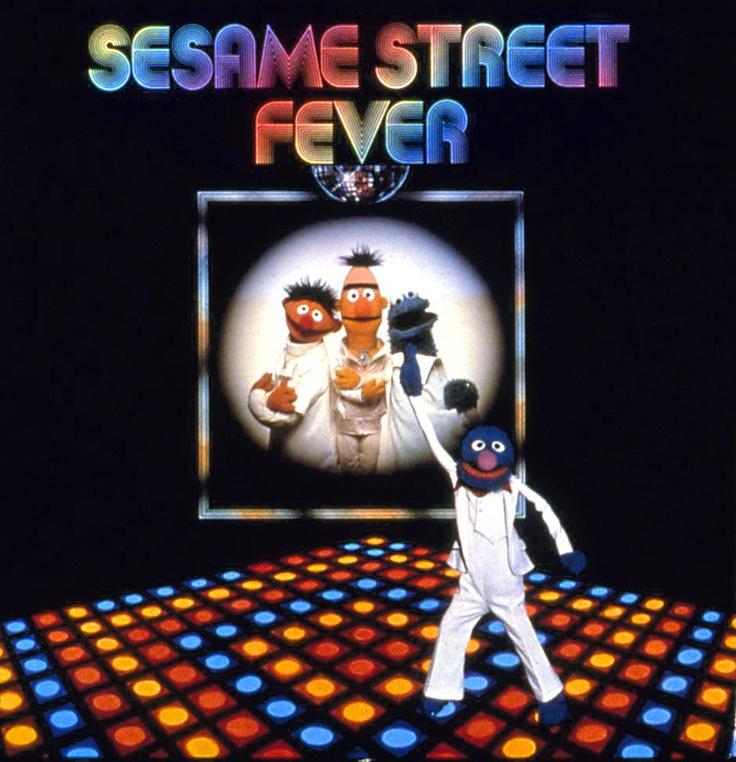 Sesame Street Fever LP (1978)