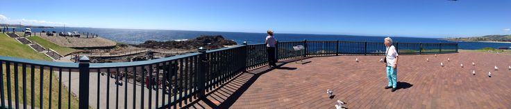 Spending a day with my sister Sue and mum at Kiama on the NSW south coast.