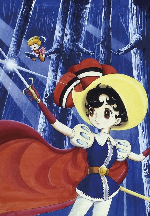 Princess knight by the great Osamu Tezuka  リボンの騎士 手塚治虫