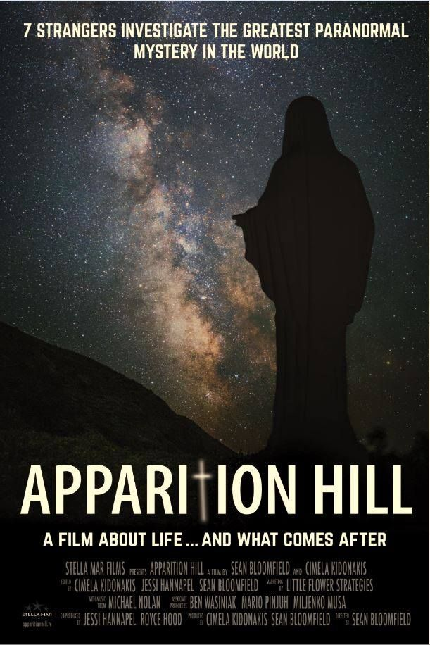 Medjugoria   A documentary following seven strangers as they investigate one of the greatest paranormal mysteries http://www.croatiaweek.com/video-apparition-hill-hoping-to-get-to-hollywood/