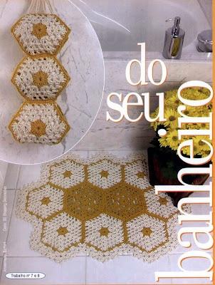 1000+ images about set de baño crochet on Pinterest