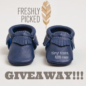 tiny toes, little nose: Freshly Picked Mocassins GIVEAWAY!!!