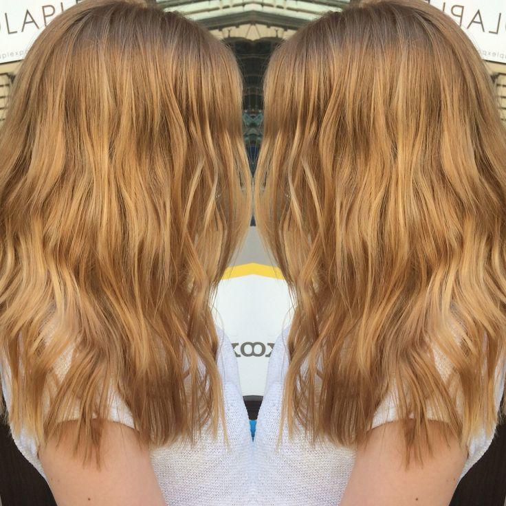 Bronde hair 3D hair color