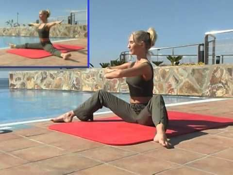 Pilates adelgazante - YouTube