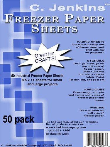 "C. Jenkins100 Industrial Freezer Paper Sheets 8.5 x 11"" by AliceInStitchesArts on Etsy https://www.etsy.com/listing/88299243/c-jenkins100-industrial-freezer-paper"