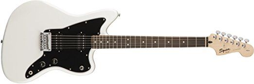 Squier by Fender Affinity Series Jazzmaster Electric Guitar - HH - Rosewood Fingerboard - Arctic White    B01MY6W4P4