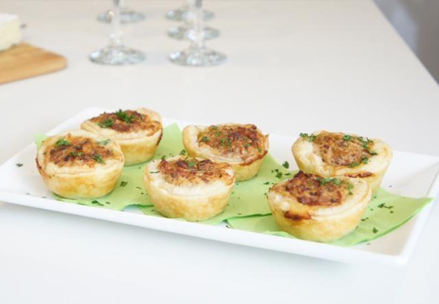 Spinach and Bacon Mini Quiche