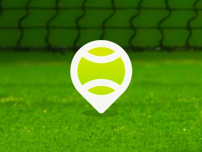 Tennis Place pin point / location marker by Alex Tass